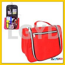 Fashion Travel Big Air Volume Multifunctional Wash Bag / Cosmetic Bag, Red