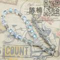 pujiang cristallo perle di vetro rosario fatto a mano