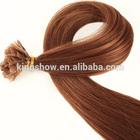 U tip pre bonded glued hair extension