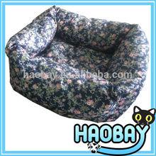 2014 New Pet Products Elegant Luxury Designer Flower Style Pet Dog Beds Long Fleece