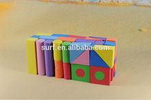 eva foam kids promotional cheap building block toys
