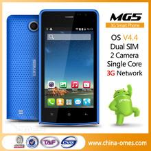 4.0inch Unlock Cheap Android 3G WCDMA GSM Dual SIM Smart Phone