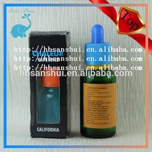 beautiful /elegant boxes for eye dropper bottle 30ml green glass bottles with label