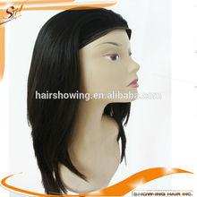 Top quality wholesale custom made jewish human hair band fall wig