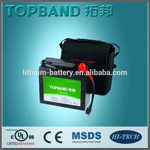 TOPBAND LiFePO4 12V 20Ah Rechargable Battery