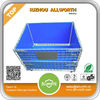 Allworth stackable rigid heavy duty Pallet & top cover wire mesh Storage Cage with wheels