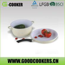 Fruit vegetable food Frying ice pan machine with sauce pot set