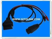 PSA 2 PIN TO 16 PIN OBD AUTO DIAGNOSTIC CABLE FOR FIAT