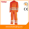 Orange Polyester Cotton Cheap electrical safety Worker protective suit
