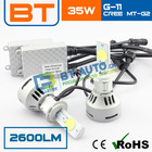 Auto Electrical System 30W 2600LM Car H7 Cree LED Headlight