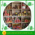 chinês enlatados de exportação da fábrica todos os tipos de alimentos enlatados
