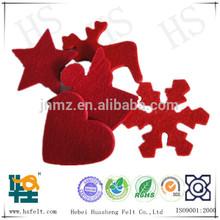 Decorative ornaments made of Woolen felt or Polyster felt