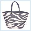 2013 Fashion Zebra Stripe Paper Straw Bag Shoulder bag