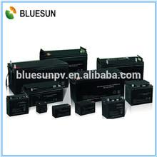 Bluesun high quality long life use competitive price 12v 100ah car gel batteries