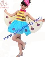 Children dance clothing children's performance Cartoon small bee