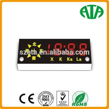 Blue Light Digital Led Message Board Alarm Clock
