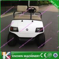 mini golf cart/2 seater mini golf cart/4 wheel drive electric golf cart