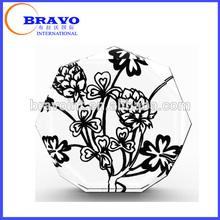 impreso flor de cristal placa de adjudicación trofeo