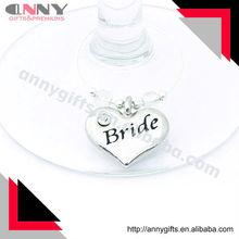 Wedding Bride Wine Glass Charm