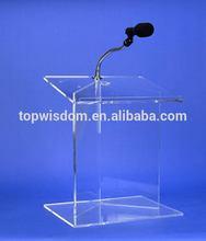 Excellent quality classical custom perspex church podium pulpit