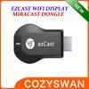 ez Cast Chromecast Miracast Dongle TV stick DLNA Miracast Airplay Mirror support windows ios andriod