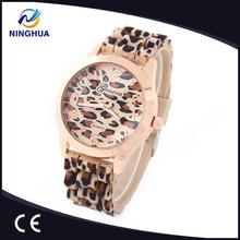 2014 Geneva Watch Leopard Gold Color Dress Women/Ladies Vogue Watch