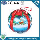 Large decorative christmas tin ball
