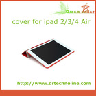 2014 hot selling tablet cover slim leather case for ipad mini 3