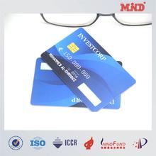 MDC1440 CMYK 4C printing IC memory card ISO7816 CR80 smart card