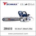ZM4610 45.6cc 1.8kW chainsaw 2 stroke engine ignition
