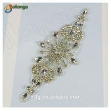 2015 Popular Hot sale wholesale bridal rhinestone appliques wedding bridal accessory