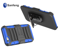 Heavy Duty Holster Case Cover with Belt Locking Clip for iphone 6 Shockproof Case