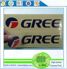 CMYK Color Printing Transparent Adhesive Sticker