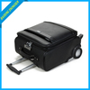PU carry-on cheap cabin size trolley luggage bag