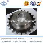 28B-1 standard pitch44.45 58T C45 chain sprockets with hub DIN standard