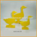 ornement de pâques en céramique de canard canard blanc pour la vente de canard en porcelaine