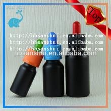 best sell black glass bottles black eye dropper bottle
