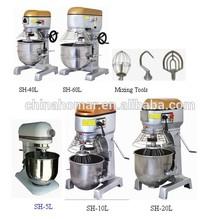 20/40/60/80L planetary mixer/cake mixer/bakery planetary mixer