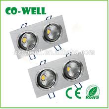 High quality AC85-265V L175*W92*H75mm 5x1w led down lights