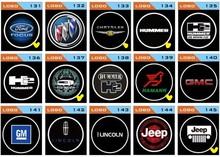 led car logo door light/led ghost shadow car logo lights/led car door logo laser projector light