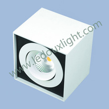 COB deformable surface mounted square adjustable led spot light replace AR111 CREE/CE&RoHS cree chip