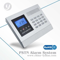 LCD PSTN wireless home security alarm system LYD-113X low price