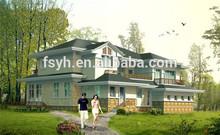 modular home prefabricated villa 2 storey house