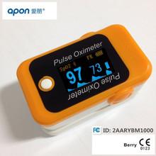 Berry CE&FDA Certified pulse rate sensor finger pulse oximeter price
