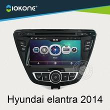 China OEM exporters in dash special car dvd player for hyundai elantra 2014
