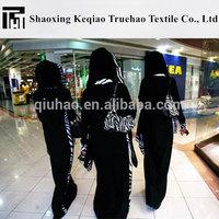 Truehao Textile 2015 High Quality Korea Black Abaya Fabric Hot Sale