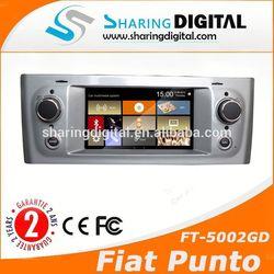 autoradio gps support original blue&me for Fiat Grande Punto Car DVD GPS Bluetooth