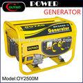 Hot vente! Honda génératrice à essence 6.5hp électrogène à essence set 2.5kw générateur électrique