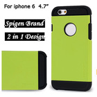 "2 in 1 SLIM ARMOR spigen case COVER for iphone 6 case 4.7"" 5.5"" apple plus"