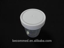 Sterile Urine Solid Sample Specimen Bottle Container 120ml